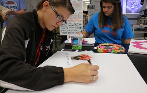 Juniors look forward to joining National Art Honor Society