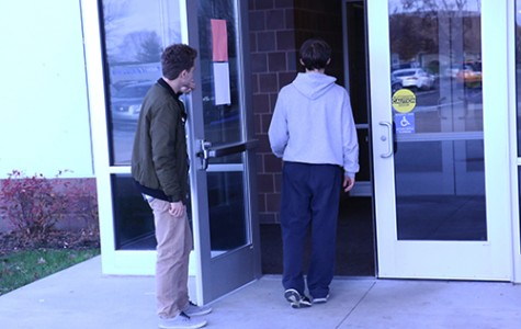 Doors on north end of school to be permanently locked
