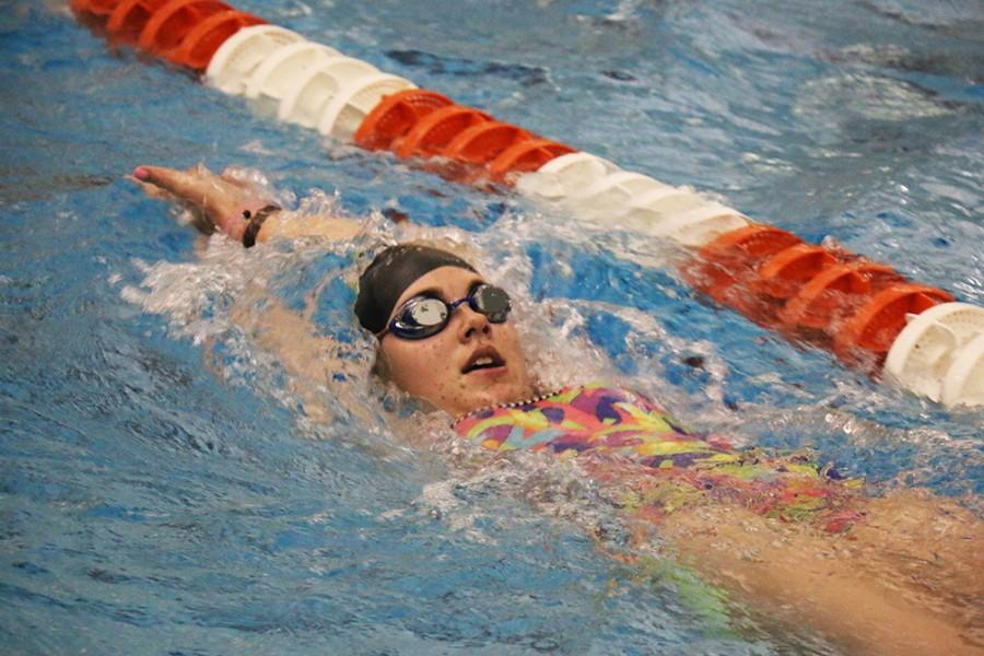 East girls' swimming team has a bright season ahead of them