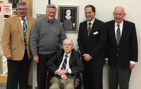 Library named after East's first principal