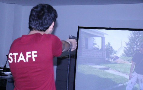 C4 hosts firearm training simulator to educate students and faculty