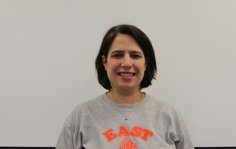 Former teacher makes a comeback at East