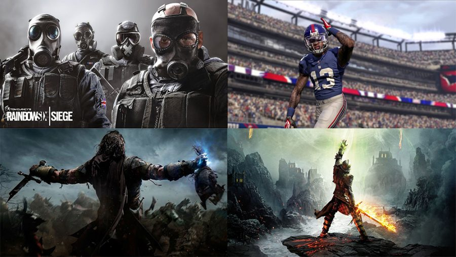 Top 5 Favorite Games on the Playstation 4