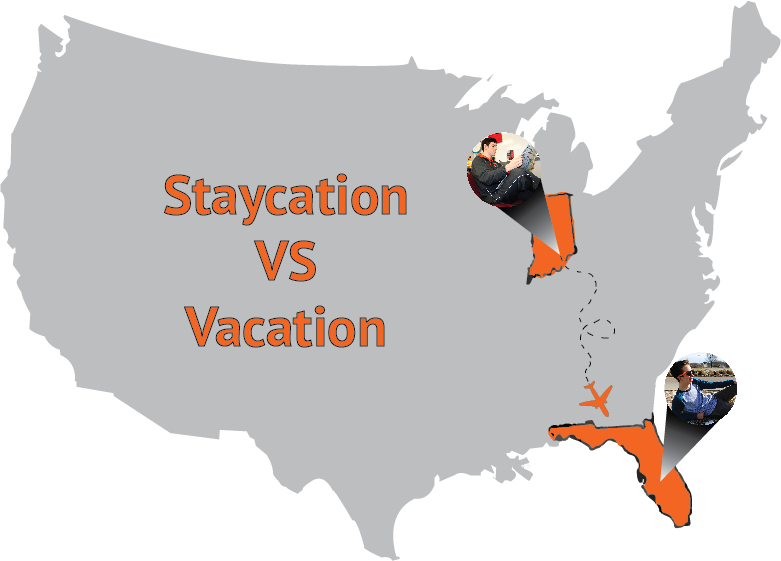 Friday Feuds: Vacation vs Staycation