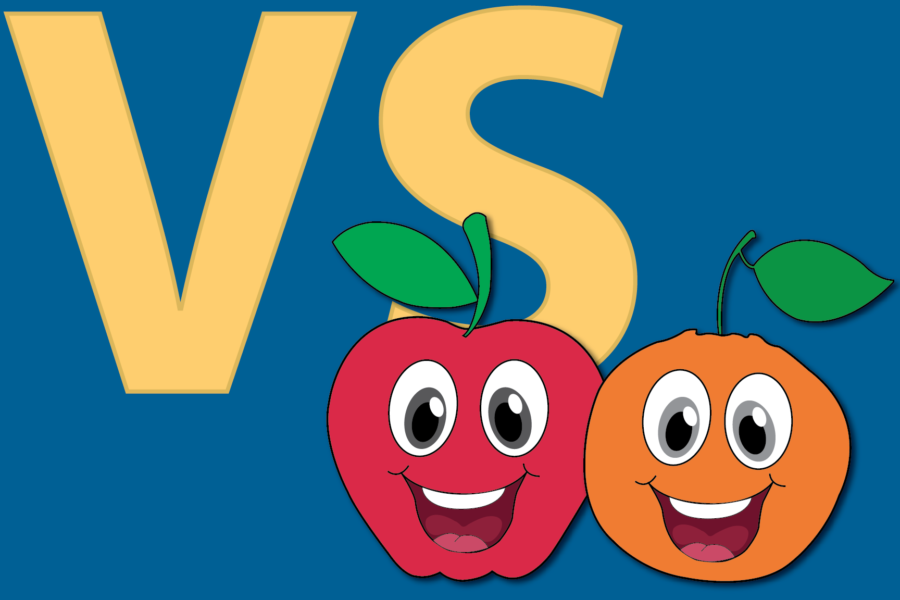 Friday Feuds: Apples vs. Oranges