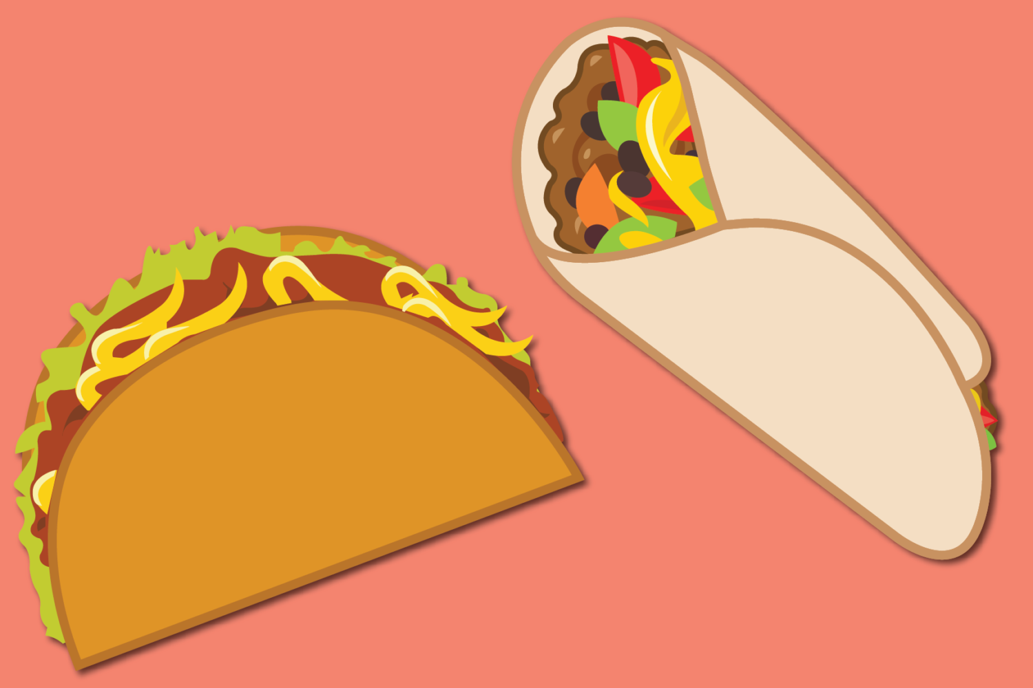Friday Feuds: Tacos vs. Burritos