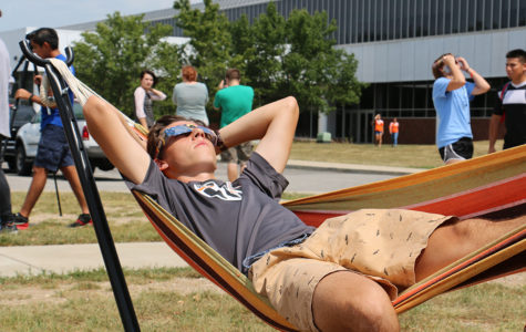 Columbus East Hosts Solar Eclipse Party