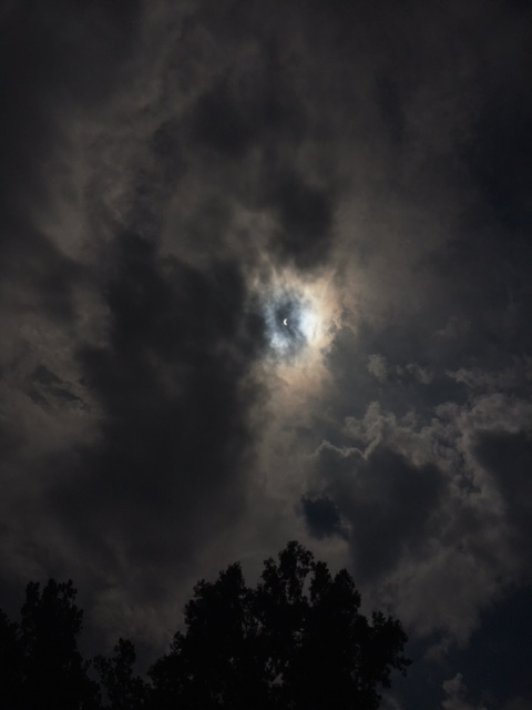 Solar Eclipse as viewed from Hopkinsville, Kentucky, 21 August, 2017.