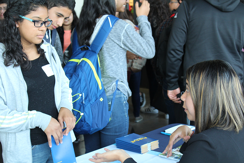 Latinos Learn about Post-Secondary Education