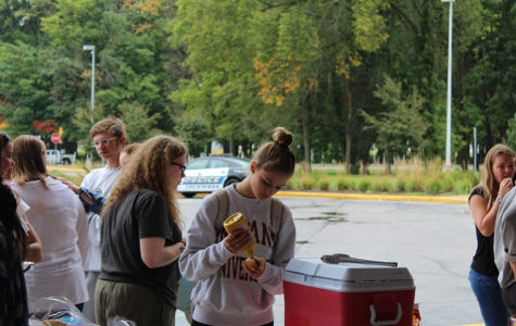 Student Assembly Organizes Cookout for Suicide Prevention Week