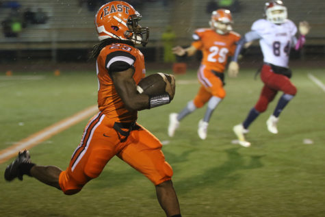 East Football Runs Past Bedford to Advance to Sectional Final