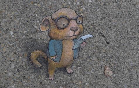 David Zinn: Drawing His Way Downtown