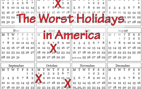 The Worst Holidays in America