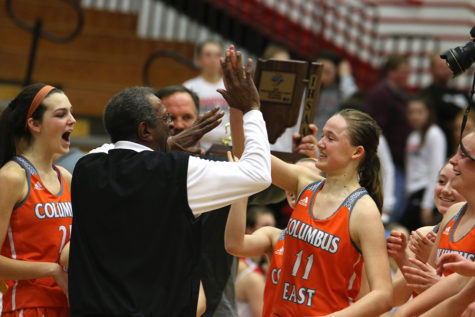 East Girls Basketball Wins First Sectional Title in Seven Years
