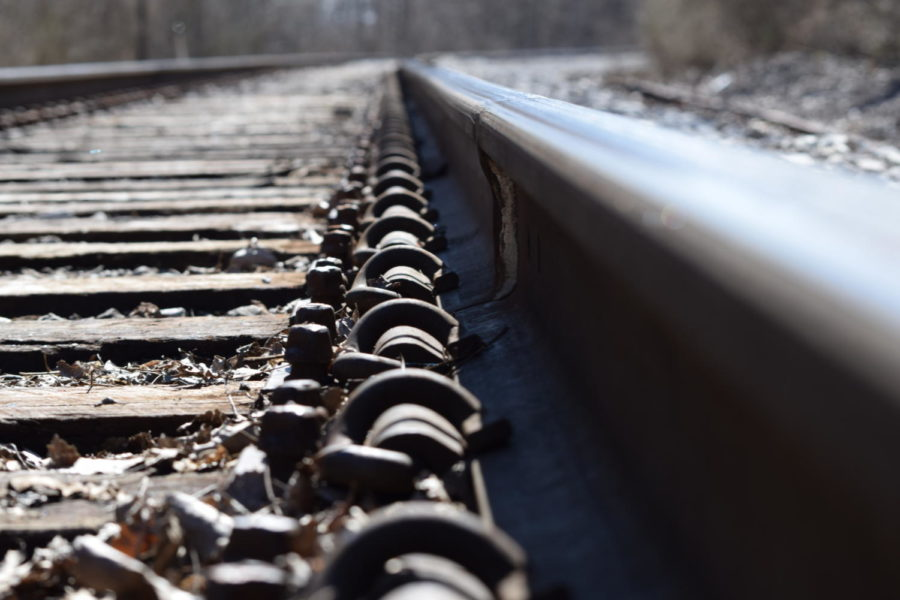 Polished Rails. (Noblitt Railroad Tracks)