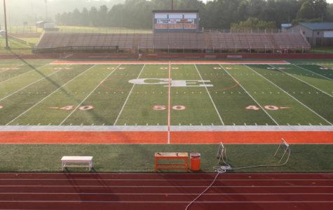 East Installs New Turf Field