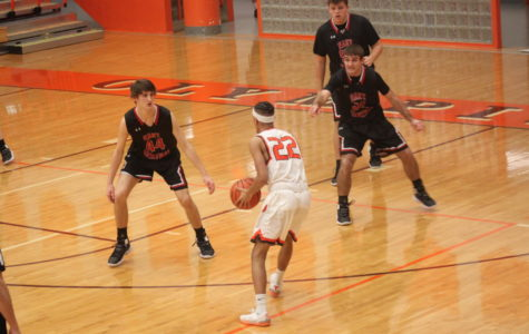 Boys Basketball Brings In The Win