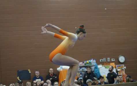 Senior Night for Gymnastics