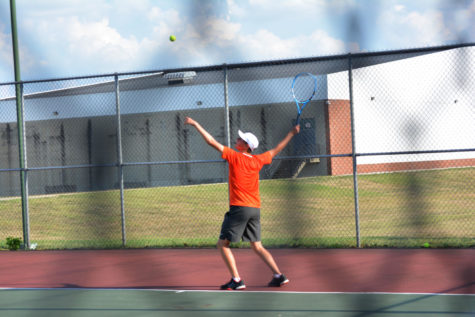Boys Tennis Defeated by Bloomington South