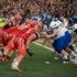 Varsity Football Takes on Hometown Rival