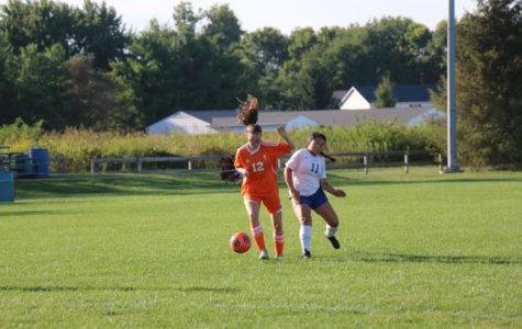 JV Girls Soccer Sweeps New Albany