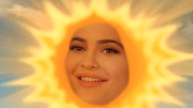 Kylie Jenner Makes Cash Off Her Own Meme