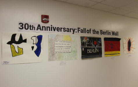 German Students Recreate Berlin Wall Art