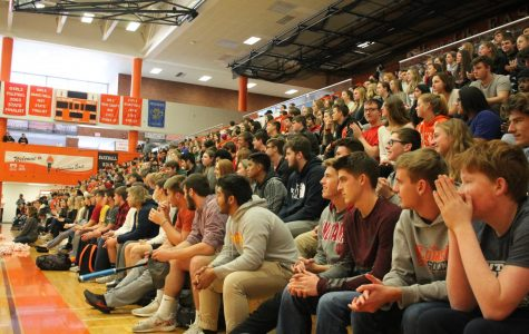 East Holds First Pep Rally in 15 Years