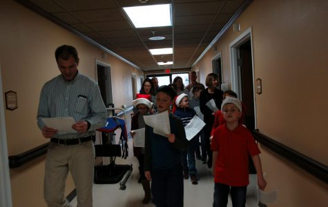 St. Peters Sings Carols for Nursing Homes