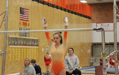 Gymnastics Meet Against Connersville