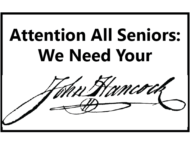 East Seniors: Submit Your Electronic Signatures