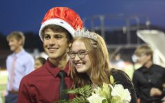 Homecoming Queen and King Olivia Shoaf and Weston Romine